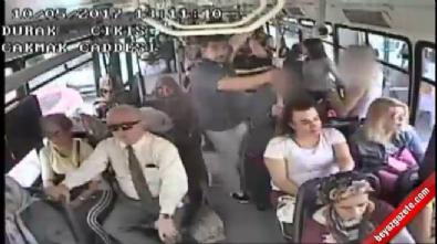 ataturk - Belediye otobüsündeki cinsel taciz kamerada