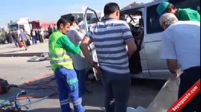 Eskişehir'de tır ile otomobil çarpıştı: 2 ölü 7 yaralı