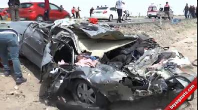 Kayseri-Ankara karayolunda feci kaza: 3 ölü, 1 çocuk yaralı