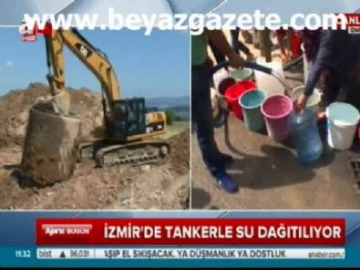 İzmir'de 3 günlük su kesintisi halkı isyan ettirdi!