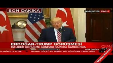 Trump: PKK ve DEAŞ'a karşı Türkiye'nin yanındayız