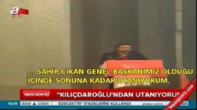 ataturk - CHP'li gençten tepki: Kılıçdaroğlu'ndan utanıyorum