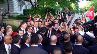 Cumhurbaşkanı Erdoğan'a ABD'de sevgi gösterisi
