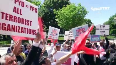 Türklerden PKK yandaşlarına ABD'de kapak!