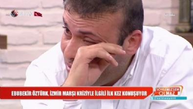 Ebubekir Öztürk, ''İzmir Marşı'' krizi ile ilgili ilk kez konuştu!
