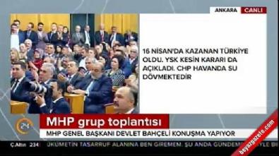 Devlet Bahçeli'nin grup toplantısı konuşması