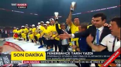 Fenerbahçe Avrupa'nın en büyük kupasını aldı