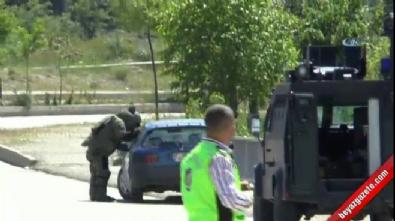 Tunceli'de şüpheli araç polisi alarma geçirdi