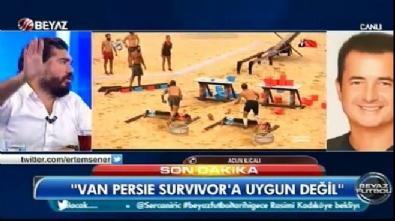 Acun Ilıcalı: Van Persie Survivor'da oynayamaz