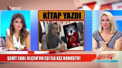 Şehit Erol Olçok'un eşi Nihal Olçok kitap yazdı