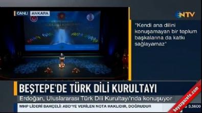 Cumhurbaşkanı Erdoğan'dan 'Arena' tepkisi