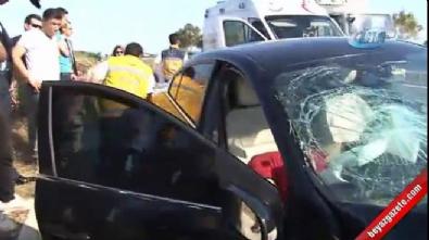 Bahçeli'nin konvoyunun geçişi sırasında kaza