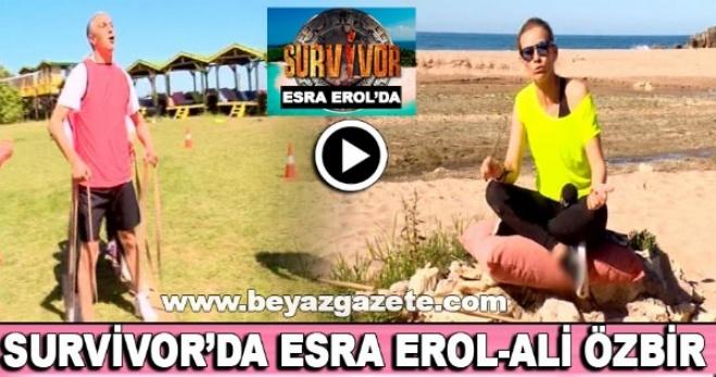 atv - Survivor'da Esra Erol-Ali Özbir kapışması (Gülme garantili)