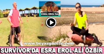 Survivor'da Esra Erol-Ali Özbir kapışması (Gülme garantili)