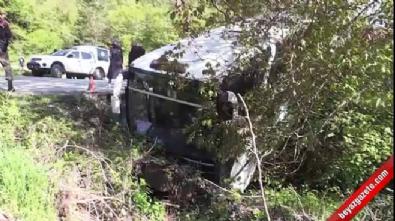 Bolu'da otobüs dere yatağına düştü: 7 yaralı İzle