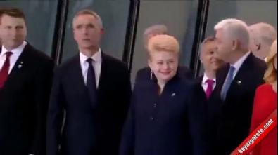 Trump, Karadağ liderini ittirdi