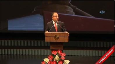 Adalet Bakanı Bekir Bozdağ'ın kura töreni konuşması