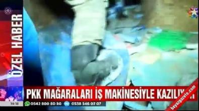 pkk teror orgutu - PKK'lı teröristler iş makineleriyle aranıyor