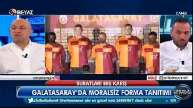 beyaz futbol - Sinan Engin'den Galatasaray'ın yeni sezon formalarına eleştiri