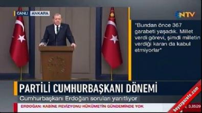 Erdoğan'dan Baykal'a 'Abdullah Gül' yanıtı