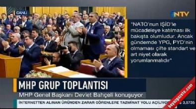 Bahçeli'den NATO'ya tepki
