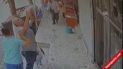sanliurfa - Balkondan düşen çocuğu havada yakaladılar