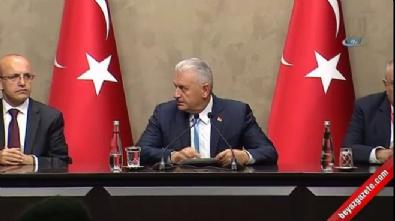 Başbakan Yıldırım'dan 'Abdullah Gül' sorusuna yanıt