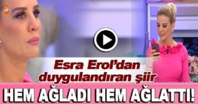ali ozbir - Esra Erol'un şiiri herkesi ağlattı! 'Her kadının bir oğlu olmalı'