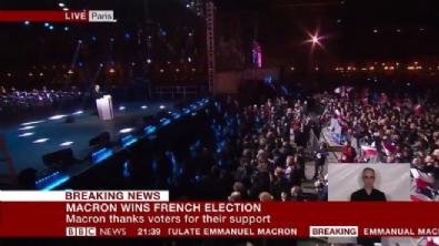 Macron'dan ilk mesaj: Garanti altına alacağım