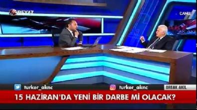 Hüseyin Gülerce 15 Haziran'da darbe olacak iddiası hakkında konuştu.....