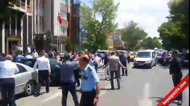 silahli saldiri - Ankara'da esnaf odasında çatışma