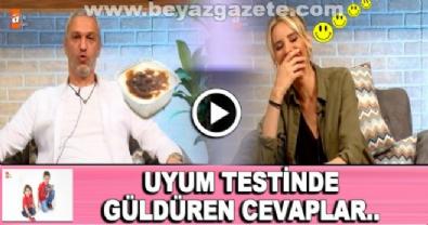 Esra Erol-Ali Özbir çiftinin uyum testi kahkahalara boğdu!