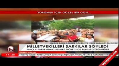 Gamze Akkuş İlgezdi'den Bahçede Yeşil Çınar türküsü