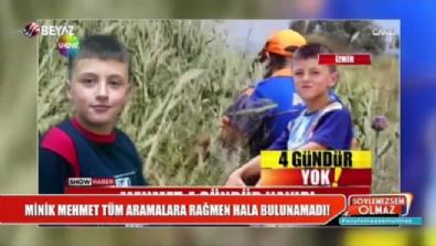 soylemezsem olmaz - İzmir'de plajda kaybolan minik Mehmet'ten hala haber yok