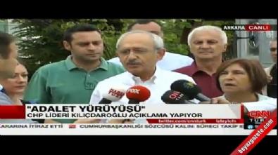 Kılıçdaroğlu'ndan yürüyüş öncesi ilk açıklama