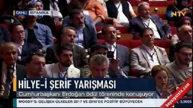 Cumhurbaşkanı Erdoğan Hilye-i Şerif Yarışması Ödül Töreni'ne katıldı