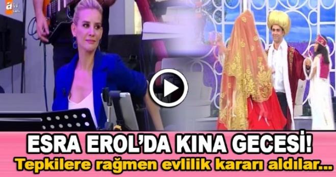 izdivac - Esra Erol'da - Emine ile Burak kına gecesinde gönüllerince eğlendi