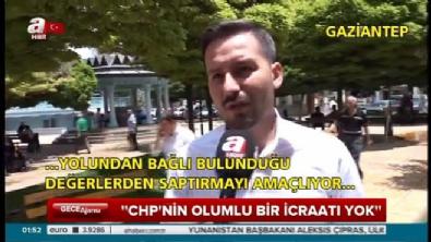 Vatandaşın gözünde CHP'nin duruşu