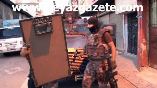 polis ekipleri - Adana'da 500 polisle PKK/KCK operasyonu: 31 gözaltı