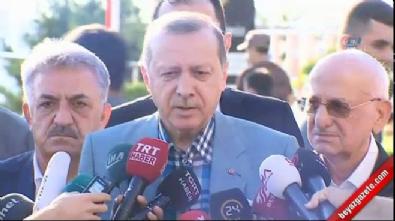 Cumhurbaşkanı Recep Tayyip Erdoğan : Şu anda gayet iyi konumdayım