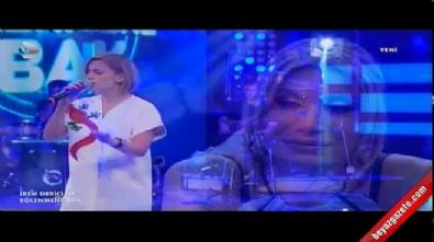 Merve Özbey söyledi İrem Derici gözyaşlarına boğuldu Video