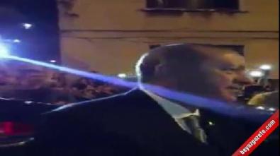 Erdoğan Kasımpaşa'da yoğun ilgiyle karşılaştı