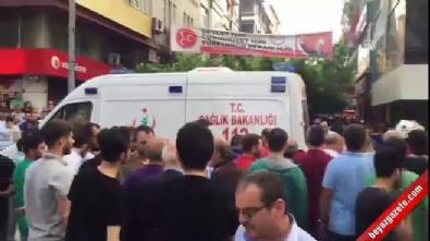 İstanbul'un göbeğinde çatışma