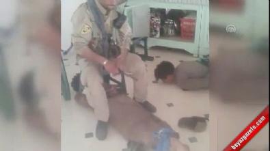 pkk teror orgutu - PYD/PKK'nın sivillere işkence görüntüleri ortaya çıktı