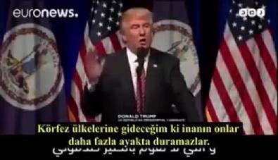 Trump'ın Körfez Ülkeleri için yaptığı konuşma