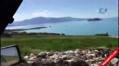 Van Gölü çöplüğe döndü