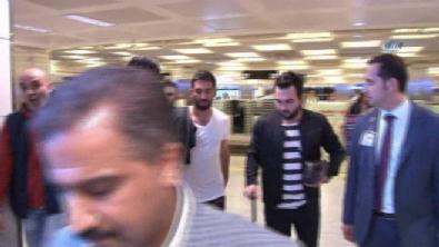 Arda Turan İstanbul'a geldi
