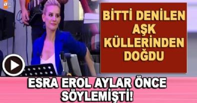 Esra Erol'da - Ceyda Mustafa aşkı küllerinden doğdu