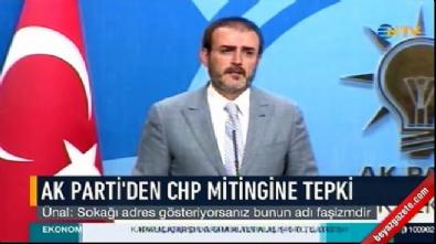 AK Parti Sözcüsü Mahir Ünal: Kılıçdaroğlu halkı isyana teşvik ediyor