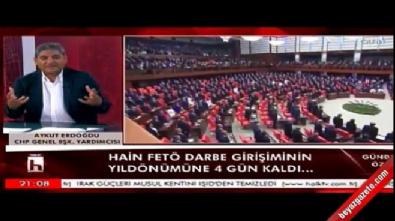 CHP'li Aykut Erdoğdu'dan darbe palavraları